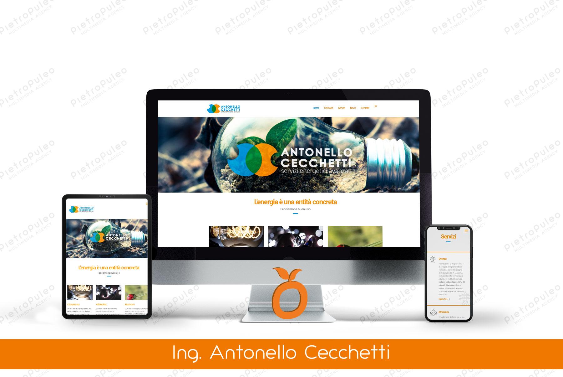 Sito web Antonello Cecchetti
