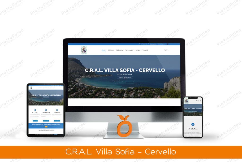 Sito web Cral Villa Sofia Cervello