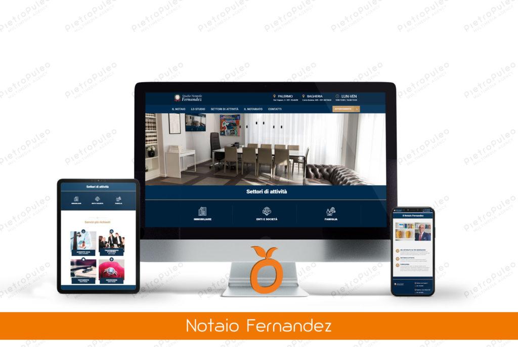 Sito web Notaio Fernandez
