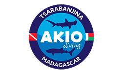 Akio Diving Logo
