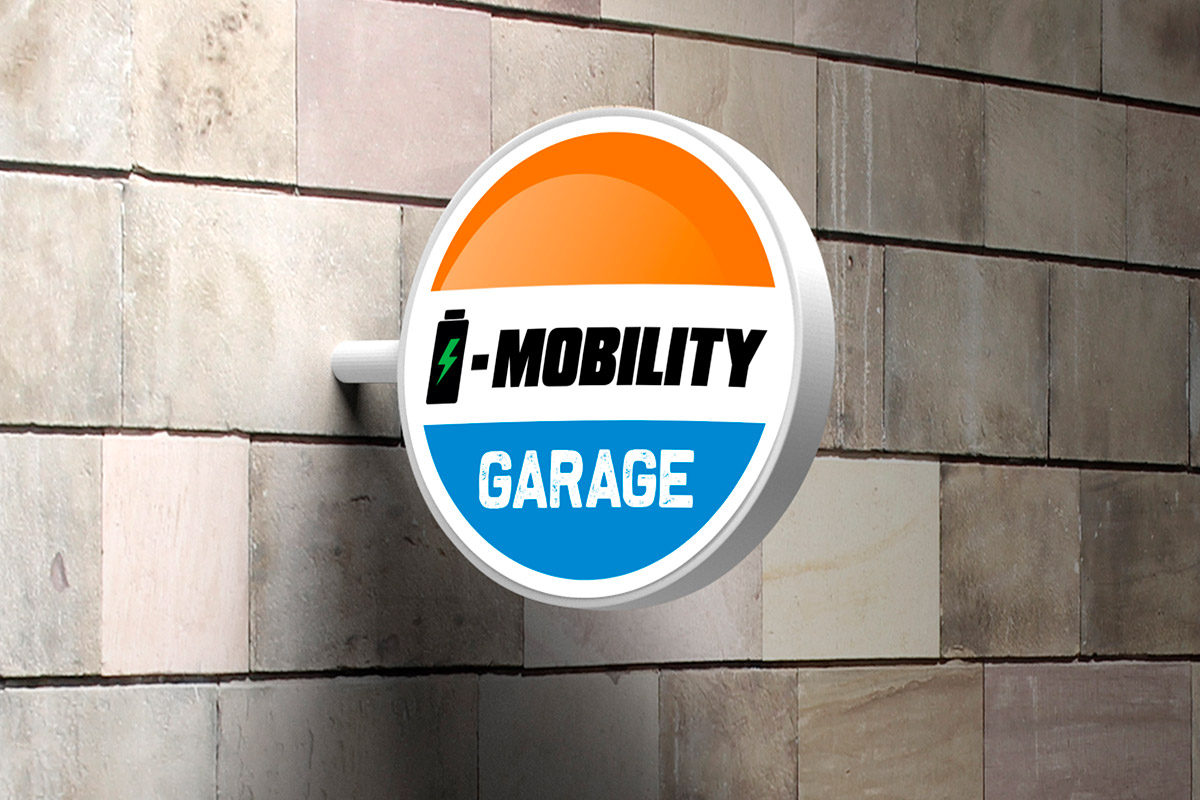 Insegna I-Mobility Garage