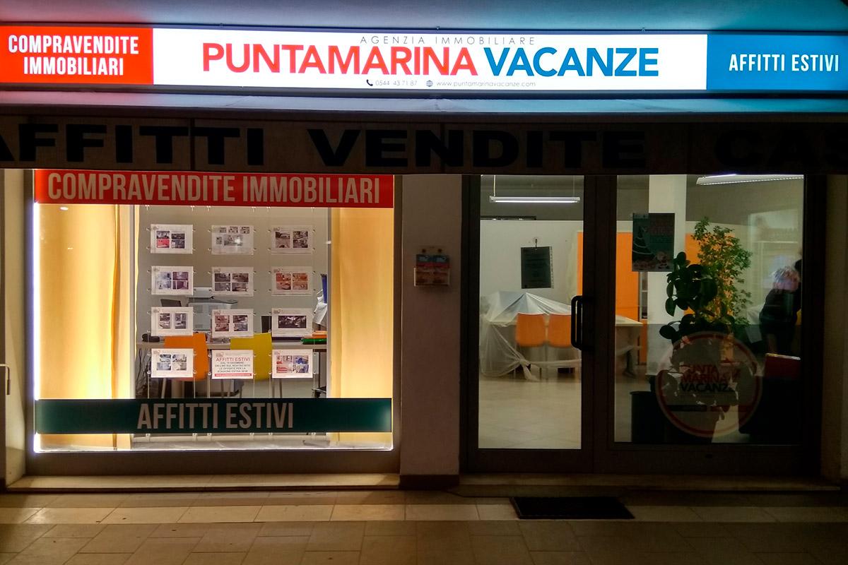 Insegna Punta Marina Vacanze